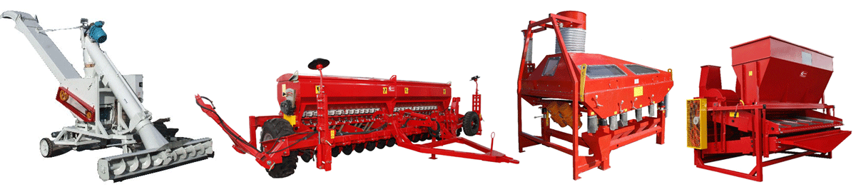 TSA. Planters for tilled crops, grain seeders (drills) and machines for crop cleaning and transportation