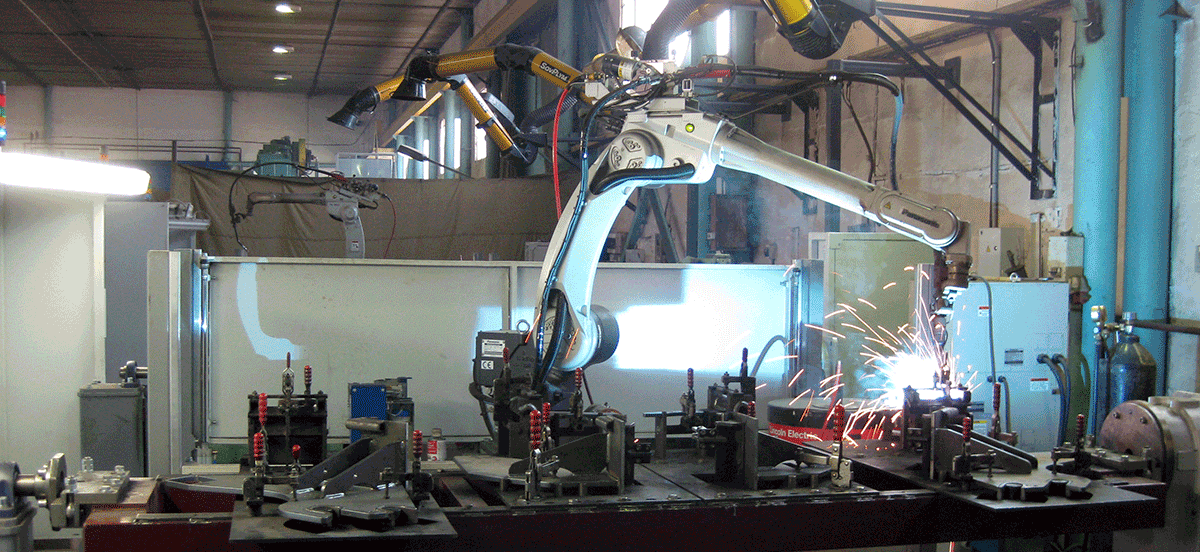 TSA. Robot welding machines